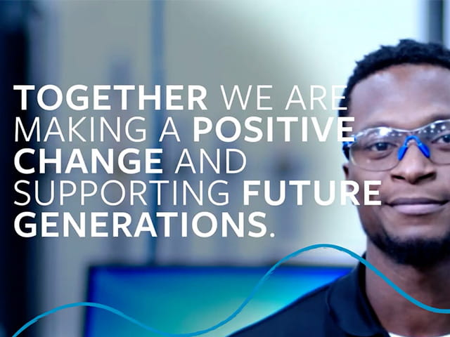我们可以一起做出积极的改变